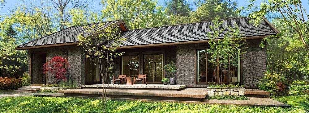 セキスイハイム 木造平屋