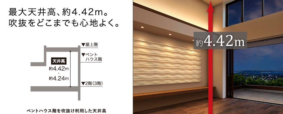 トヨタホーム 天井高