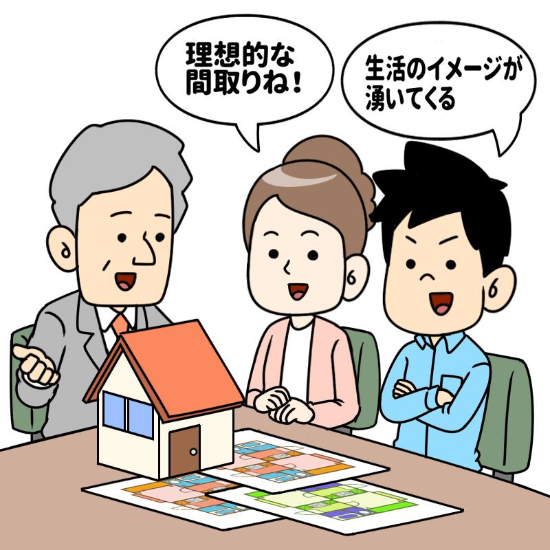 ハウスメーカーの提案力