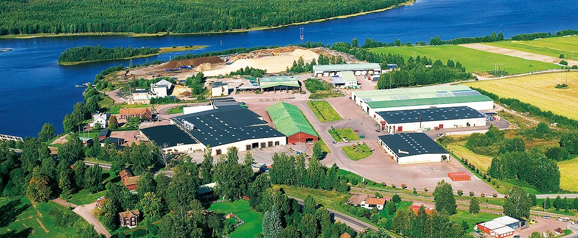 トーモクヒュースAB 北欧工場