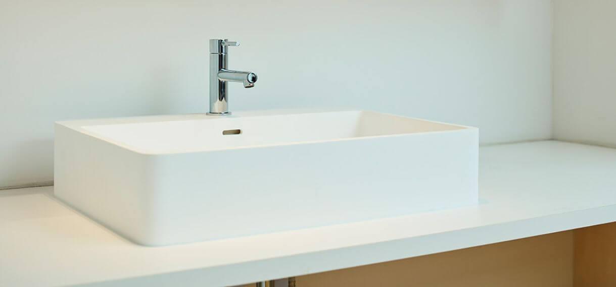 無印良品の家 オリジナル洗面台