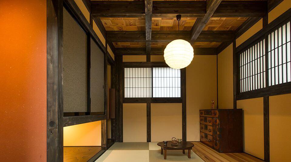 日本伝統の真壁づくりの家