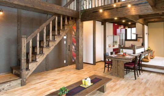 サイエンスホームは国産の檜を贅沢に使用