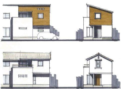 エースホームの外観デザイン