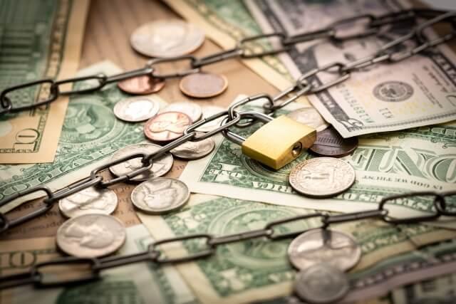 銀行の貸し渋りのイメージ