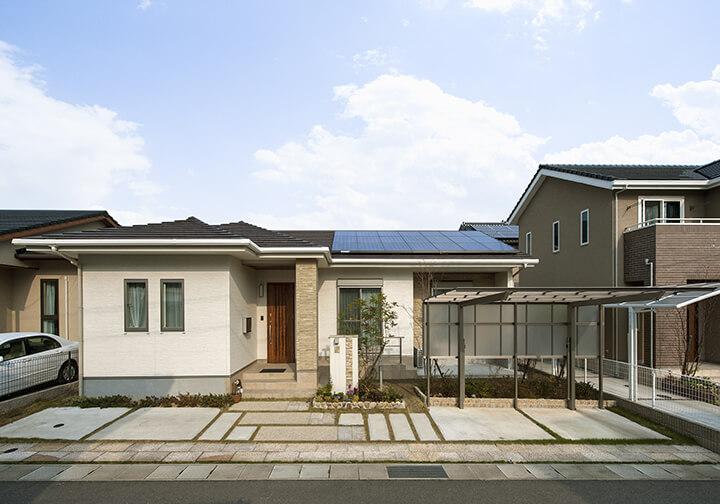 谷川建設の平屋(洋モダン)