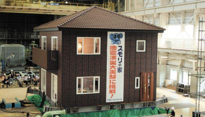 スモリの家 耐震実験