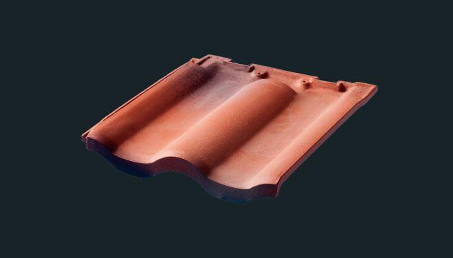 スモリの家 陶器瓦