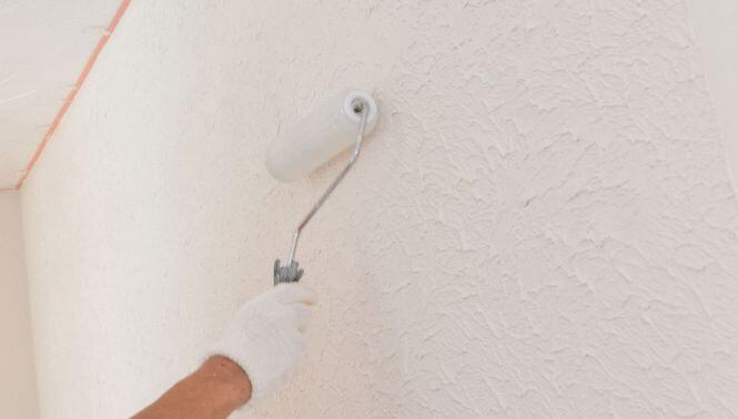 スモリの家 内装塗り壁