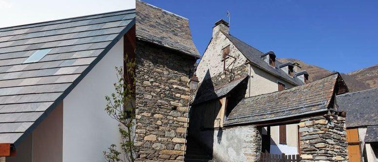 無添加住宅 屋根 天然石